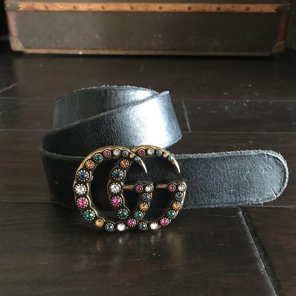 f2556447a4b Gucci Accessories - Gucci Jewel GG Belt 90cm